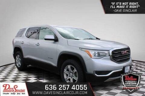 2018 GMC Acadia for sale at Dave Sinclair Chrysler Dodge Jeep Ram in Pacific MO