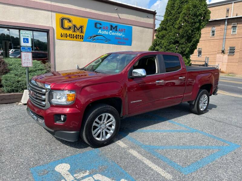 2017 GMC Canyon for sale at Car Mart Auto Center II, LLC in Allentown PA