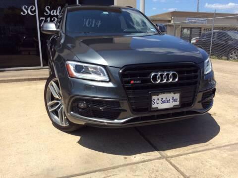 2015 Audi SQ5 for sale at SC SALES INC in Houston TX