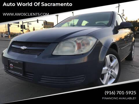 2008 Chevrolet Cobalt for sale at Auto World of Sacramento Stockton Blvd in Sacramento CA