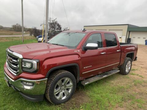 2018 GMC Sierra 1500 for sale at Yachs Auto Sales and Service in Ringle WI