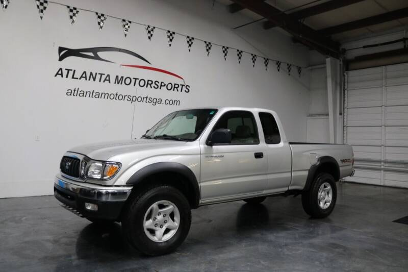 2004 Toyota Tacoma for sale at Atlanta Motorsports in Roswell GA