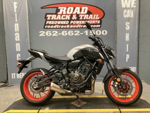 2019 Yamaha MT-07 for sale at Road Track and Trail in Big Bend WI