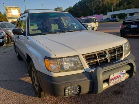 1999 Subaru Forester for sale at Gordon Auto Sales LLC in Sioux City IA