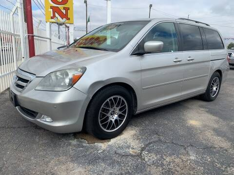 2007 Honda Odyssey for sale at Robert B Gibson Auto Sales INC in Albuquerque NM