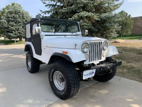 1972 Jeep CJ-5 for sale at Tobias of Blue Star Auto Group in Frederick CO