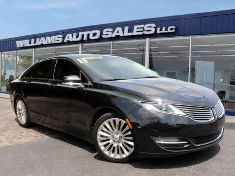 2013 Lincoln MKZ for sale at Williams Auto Sales, LLC in Cookeville TN
