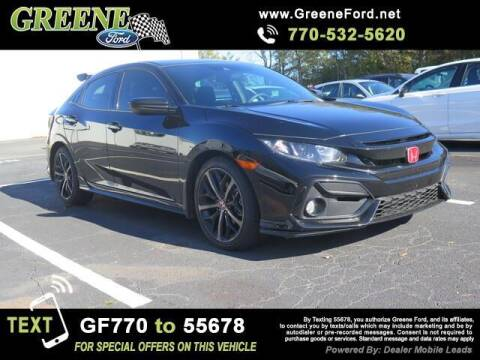 2020 Honda Civic for sale at NMI in Atlanta GA