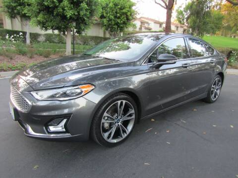 2019 Ford Fusion for sale at E MOTORCARS in Fullerton CA