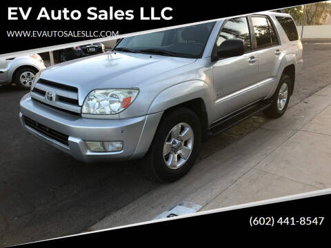2004 Toyota 4Runner for sale at EV Auto Sales LLC in Sun City AZ