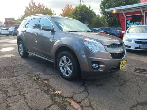 2012 Chevrolet Equinox for sale at Universal Auto Sales in Salem OR