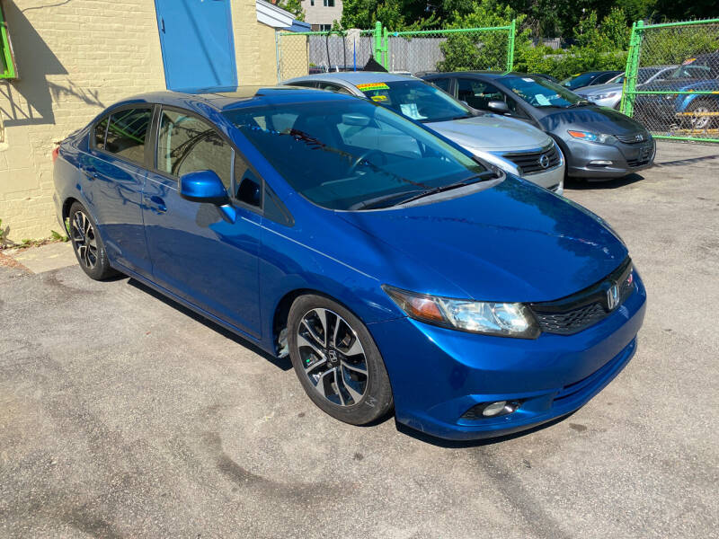 2012 Honda Civic for sale at Polonia Auto Sales and Service in Hyde Park MA