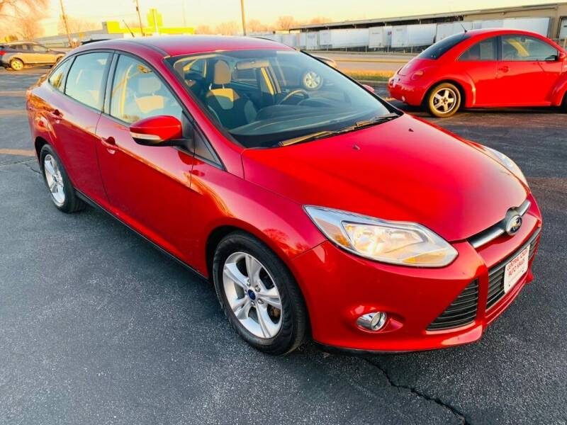 2012 Ford Focus for sale at Central Iowa Auto Sales in Des Moines IA