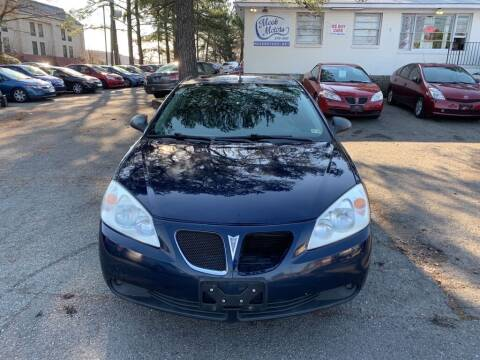 2008 Pontiac G6 for sale at MEEK MOTORS in North Chesterfield VA