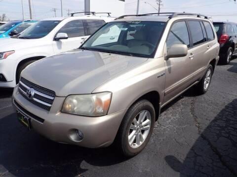 2006 Toyota Highlander Hybrid for sale at Cj king of car loans/JJ's Best Auto Sales in Troy MI