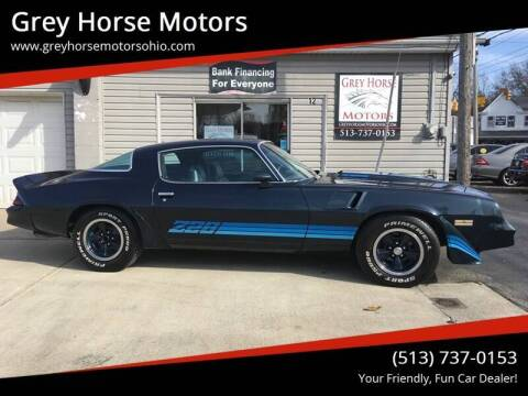 1980 Chevrolet Camaro for sale at Grey Horse Motors in Hamilton OH
