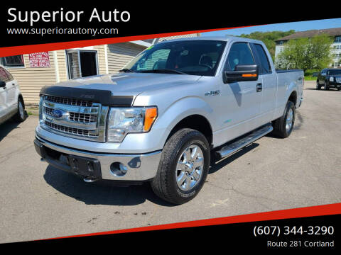 2013 Ford F-150 for sale at Superior Auto in Cortland NY