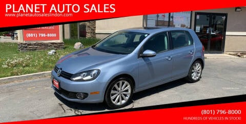 2012 Volkswagen Golf for sale at PLANET AUTO SALES in Lindon UT