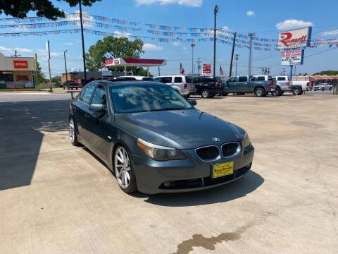 2004 BMW 5 Series for sale at Russell Smith Auto in Fort Worth TX