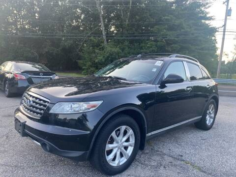 2006 Infiniti FX35 for sale at Royal Crest Motors in Haverhill MA