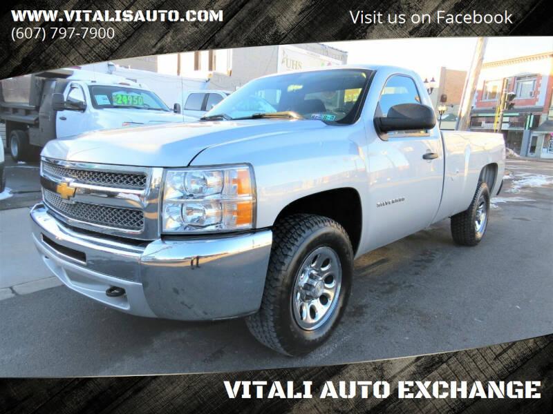 2012 Chevrolet Silverado 1500 for sale at VITALI AUTO EXCHANGE in Johnson City NY