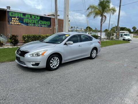 2013 Nissan Altima for sale at Galaxy Motors Inc in Melbourne FL