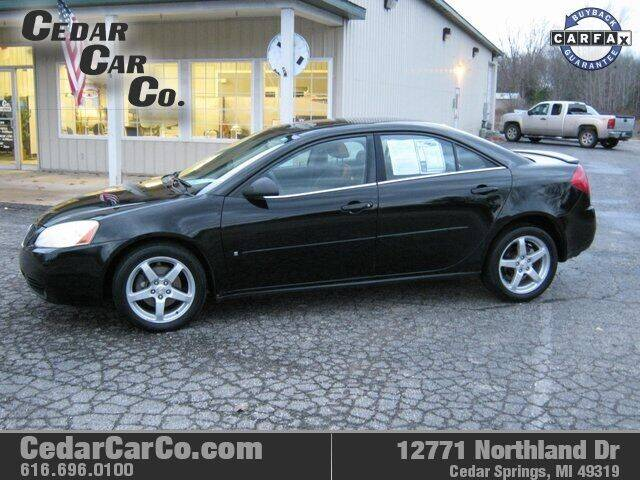 2007 Pontiac G6 for sale at Cedar Car Co in Cedar Springs MI