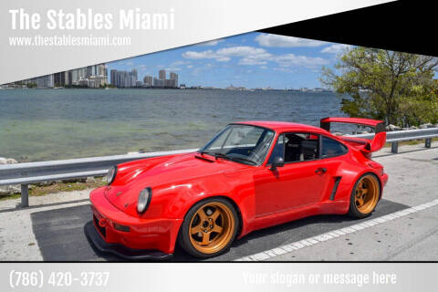 1990 Porsche 911 Carrera for sale at The Stables Miami in Miami FL