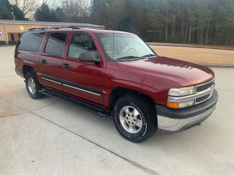 2001 Chevrolet Suburban for sale at Two Brothers Auto Sales in Loganville GA
