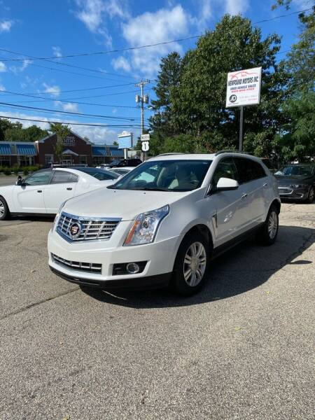 2015 Cadillac SRX for sale at NEWFOUND MOTORS INC in Seabrook NH