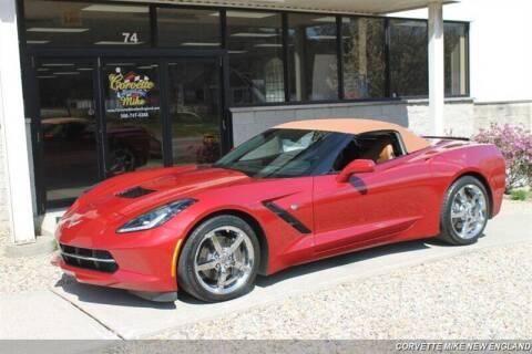 2015 Chevrolet Corvette for sale at Corvette Mike New England in Carver MA