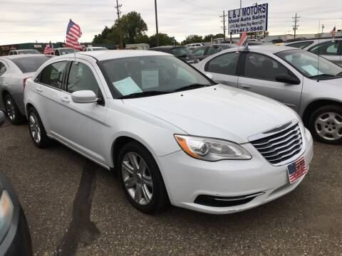 2013 Chrysler 200 for sale at L & J Motors in Mandan ND