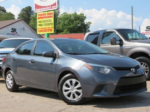 2015 Toyota Corolla for sale at Diego Auto Sales #1 in Gainesville GA