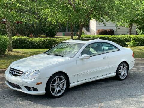 2009 Mercedes-Benz CLK for sale at Triangle Motors Inc in Raleigh NC