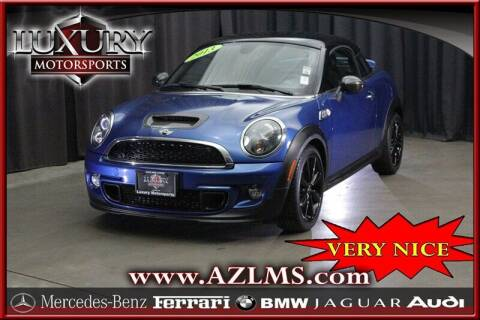 2013 MINI Coupe for sale at Luxury Motorsports in Phoenix AZ