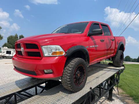 2012 RAM Ram Pickup 1500 for sale at Champion Motorcars in Springdale AR