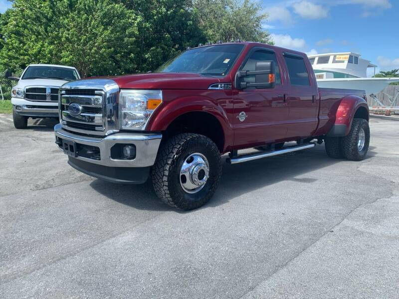 2015 Ford F-350 Super Duty for sale at Truck Depot in Miami FL
