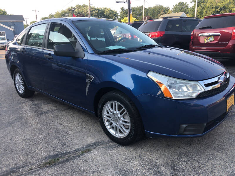 2008 Ford Focus for sale at COMPTON MOTORS LLC in Sturtevant WI