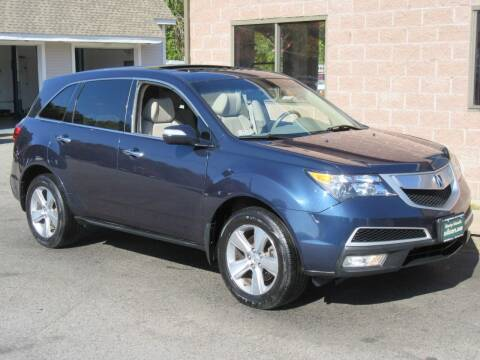 2012 Acura MDX for sale at Advantage Automobile Investments, Inc in Littleton MA