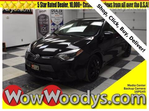 2016 Toyota Corolla for sale at WOODY'S AUTOMOTIVE GROUP in Chillicothe MO