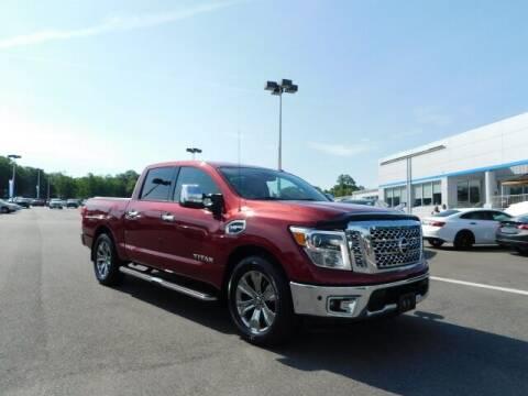 2017 Nissan Titan for sale at Radley Cadillac in Fredericksburg VA
