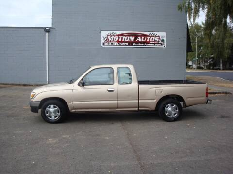 1997 Toyota Tacoma for sale at Motion Autos in Longview WA