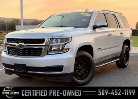 2017 Chevrolet Tahoe for sale at Premier Auto Group in Union Gap WA
