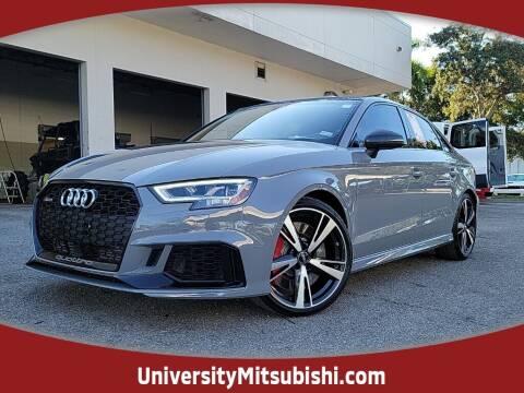2019 Audi RS 3 for sale at FLORIDA DIESEL CENTER in Davie FL