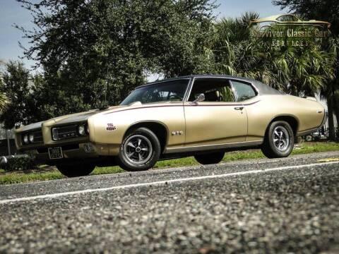 1969 Pontiac GTO for sale at SURVIVOR CLASSIC CAR SERVICES in Palmetto FL