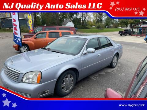 2005 Cadillac DeVille for sale at NJ Quality Auto Sales LLC in Richmond IL