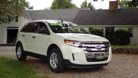 2012 Ford Edge for sale at The Auto Barn in Berwick ME