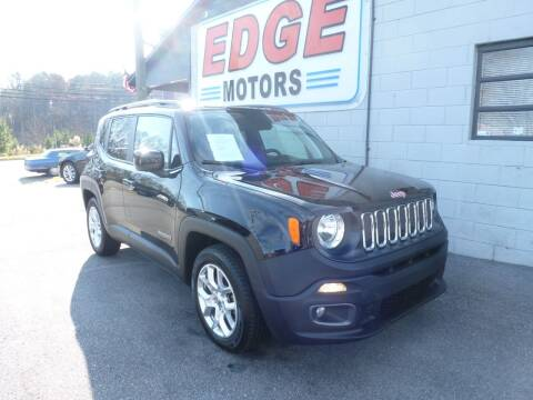2018 Jeep Renegade for sale at Edge Motors in Mooresville NC
