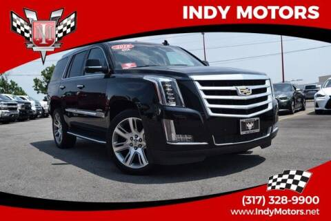 2018 Cadillac Escalade for sale at Indy Motors Inc in Indianapolis IN