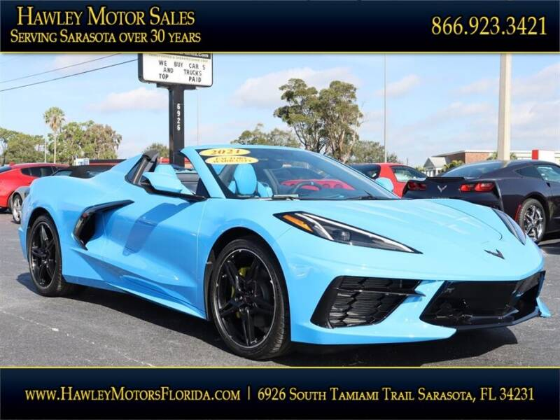 2021 Chevrolet Corvette for sale at Hawley Motor Sales in Sarasota FL